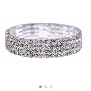 Layered Diamond Bracelet